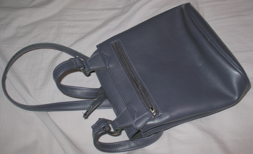Purple Leather Liz Claiborne Purse