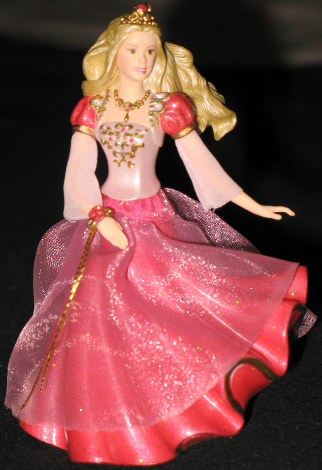 barbie as genevieve in the 12 dancing princesses ornament